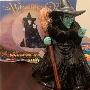 1998-The Wizard of Oz- Wicked Witch Cookie Jar